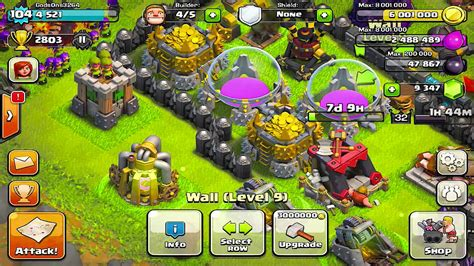 Clash Of Clans Giveaways - clash of clans lvl 8 walls upgrages giveaway winners announcements youtube