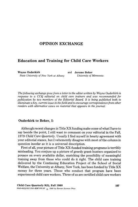 childcare cover letter exle child care letter free printable documents
