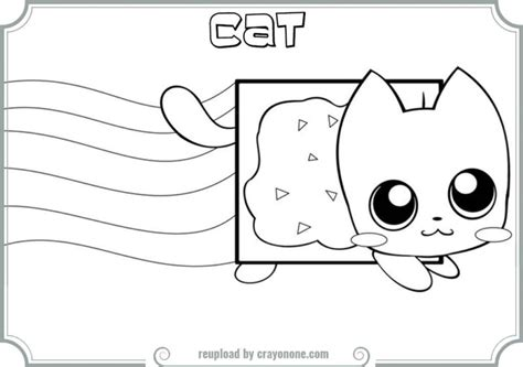 coloring pages of nyan cat neyon cat pusheen pages coloring pages