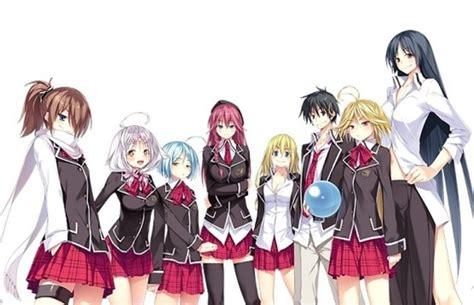 wallpaper anime trinity seven trinity seven anime manga gambar kartun review komentar