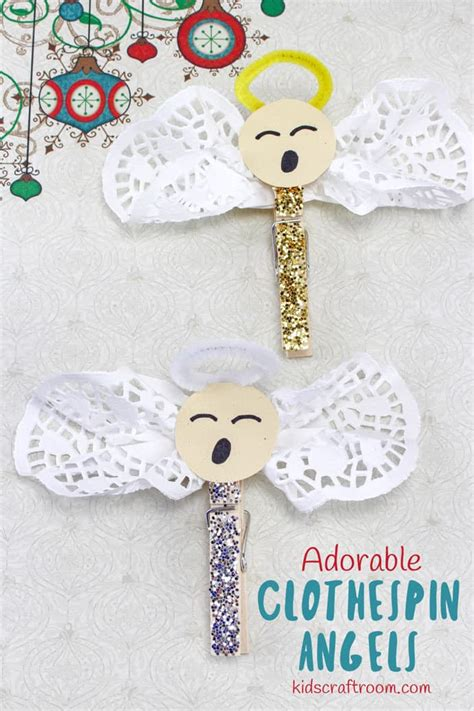 adorable clothespin angel craft kids craft room
