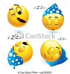 clip vecteur de smileys dormir smiley balles dans