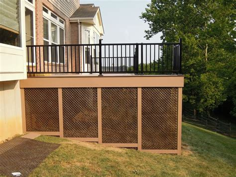 home designer pro lattice black deck lattice 187 design and ideas