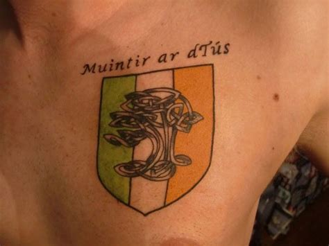 irish flag tattoo 35 glorious tattoos creativefan