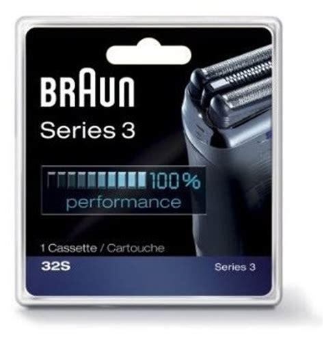 braun 32s cassette braun sensofoil series 3 replacement shaver heads 32s