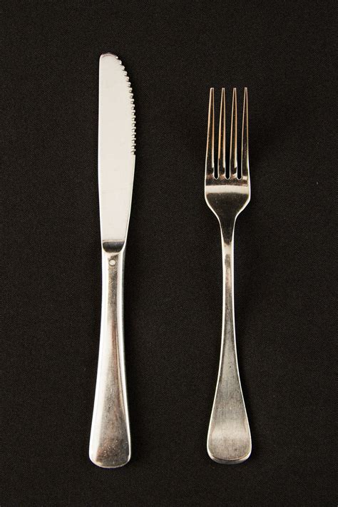 ss table knife  fork peninsula party hire