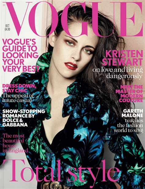 Magazine Shoots Are They Becoming Boring by Kristen Stewart For Vogue Uk October 2012