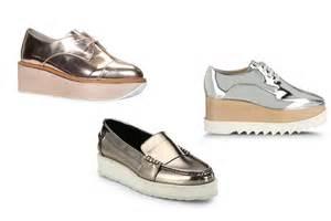 metallic shoes trending metallic footwear the couture
