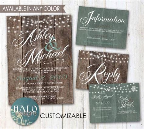 where can i buy wedding invitation kits rustic wedding invitations plank wood save the date invitation kit thank you card postcard