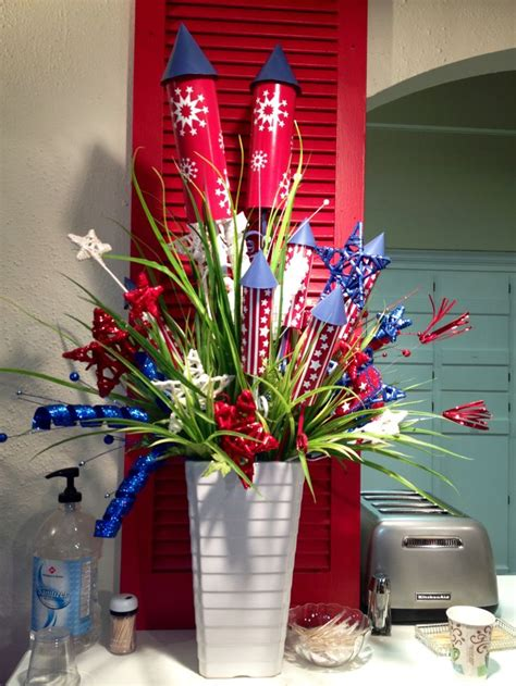 fourth of july centerpieces july 4th centerpiece wreaths for all occations