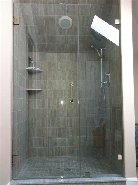 sliding doors and which door is stationary 75 best images about frameless shower doors on