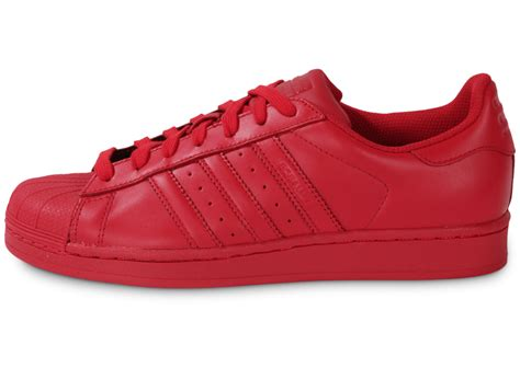 superstar rouge adidas superstar homme rouge