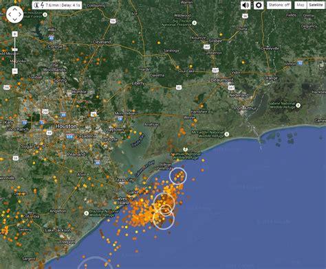 lightning strikes map website shows real time lightning strikes beaumont enterprise
