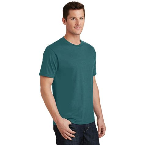 port and company fan favorite tee port company pc450 fan favorite tee marine green