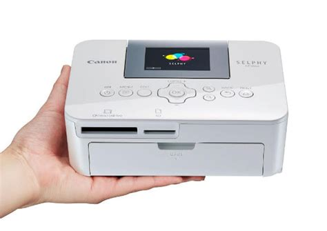 Printer Foto Mini Canon Canon Selphy Cp1000 Impresora Fotogr 225 Fica Compacta