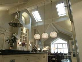 lighting for high ceilings artistic lights for high ceilings kitchen using long