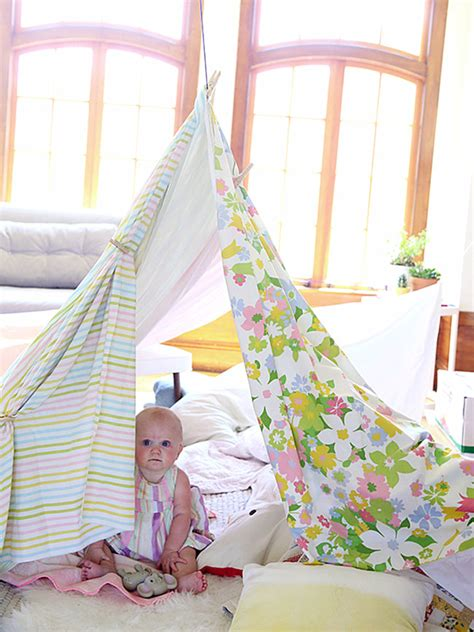How To Make A Living Room Fort diy living room fort from say yes decoist