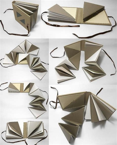 triangles 2 books 25 best ideas about accordion book on mini
