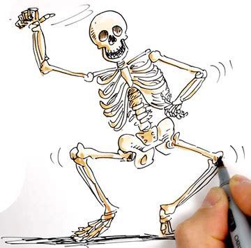 learn  draw  dancing skeleton shoo rayner author