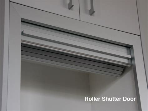 roller shutter cabinets for kitchen roller shutter door others fabulous kitchens