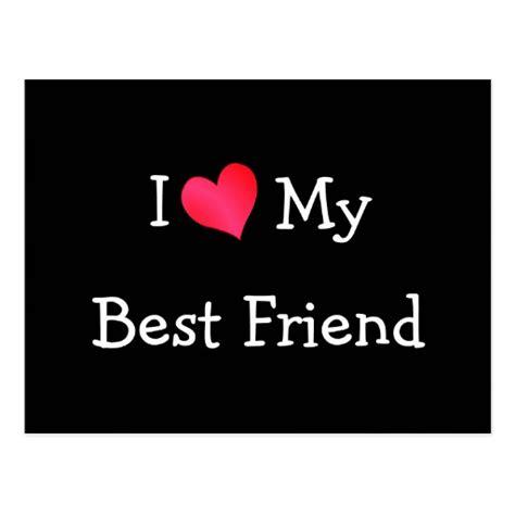 My Lover 1 i my best friend postcard zazzle