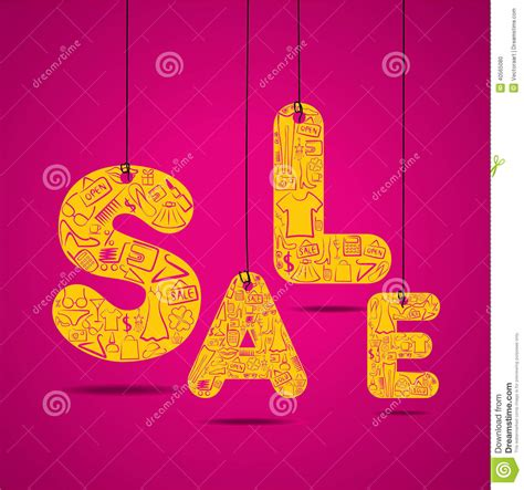 product layout sle creative sale background design concept stock vector