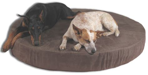 huge dog bed round orthopedic dog beds memory foam dog beds