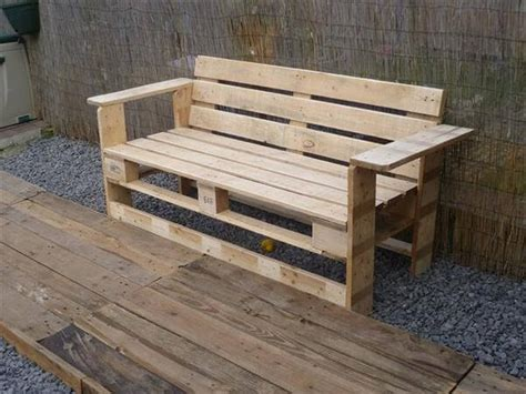 simple pallet bench 10 diy well designed pallet bench ideas diy and crafts