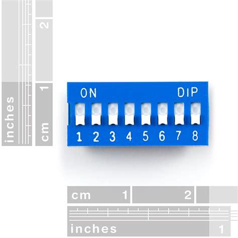 Dip Switch 6 Position 6 Pin Merah dip switch 8 position 08034 sparkfun electronics
