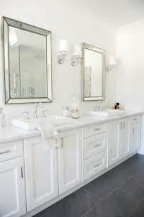 White Bathroom Cabinet Hton Style Bathroom