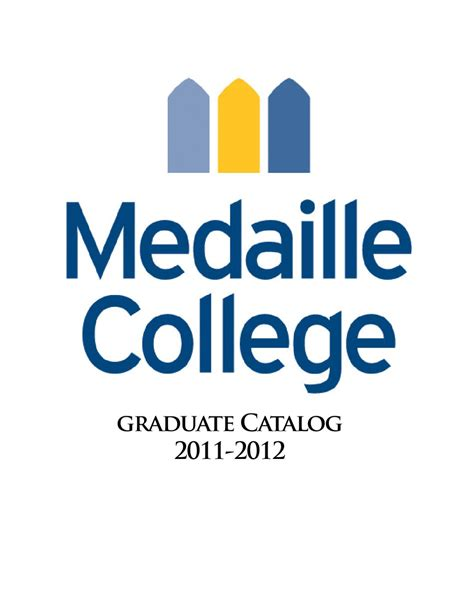 Https Www Usfca Edu Catalog Graduate School Of Management Mba Concentrations by Graduate Catalog Medaille College 2011 2012 By Medaille