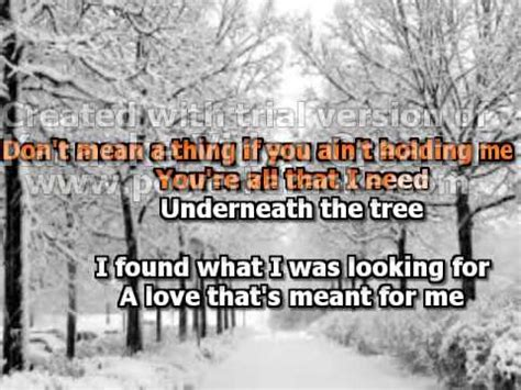 kelly clarkson underneath the christmas tree lyrics youtube