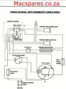 wiring diagrams tumble driers macspares wholesale spare parts supplying africa by e commerce