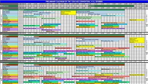 Convention Calendar Aes San Francisco 2012 187 Convention Calendar