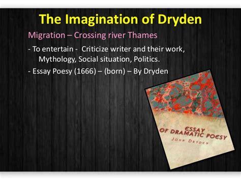 Dryden Essay Of Dramatic Poesy Text by Essay Of Dramatic Poesy Eugenius Orderessays Web Fc2