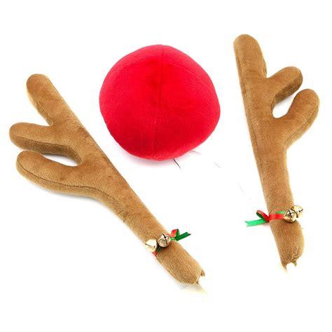 reindeer car antlers nose set ships free 13 deals
