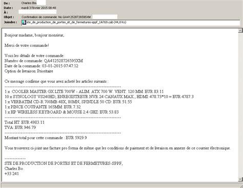 email layout in french virus ctb locker