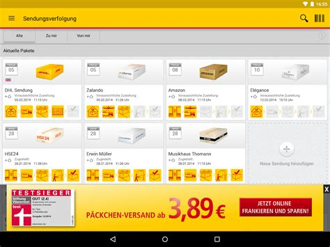 Paket Play dhl paket android apps on play