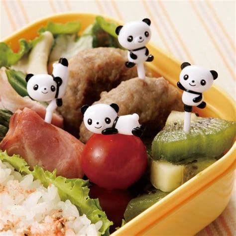 Torune S Assist Sushi Food Picks japanese bento accessory food panda 3d food picks 8 pcs for f
