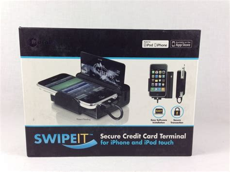 Gift Card Scanner Iphone - macally swipe it credit card reader for the iphone or ipod ebay