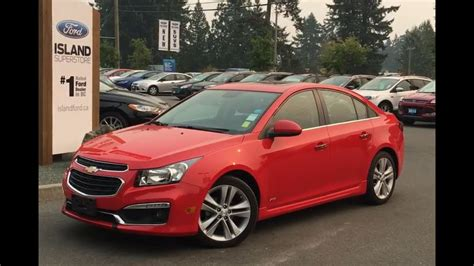 2016 Chevy Cruze Limited Review by 2016 Chevrolet Cruze Limited Ltz Leather Nav Sunroof