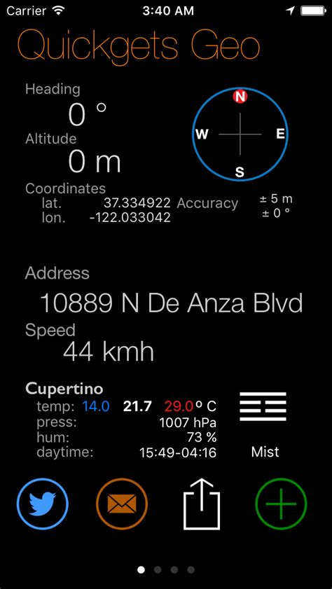 App Giveaway Of The Day - iphone giveaway of the day quickgets geo compass altimeter gps and speedometer