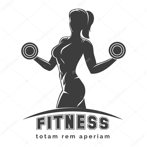 fitness clipart fitness club emblem stock vector 169 bogadeva 76478973