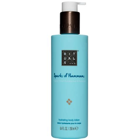 hydration spark rituals hydration lotion spark of hammam eleven se