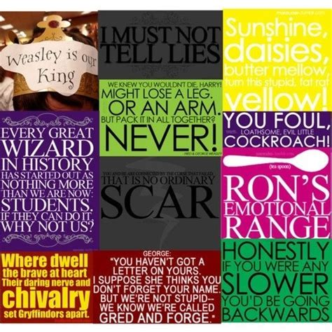 Collage Harry Potter