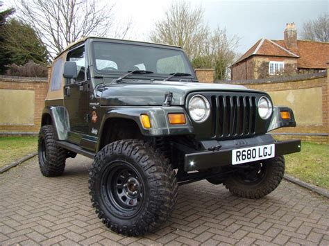 Jeep 4 0 Engine For Sale Used 1997 Jeep Wrangler 4 0 Sport 2dr For Sale In Luton