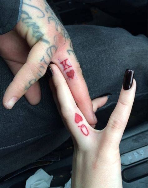 couple tattoo queen and king couples king and queen tattoos aminals pinterest