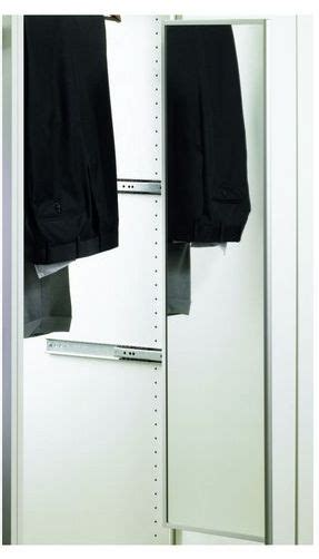 portapantaloni estraibile per armadi specchio estraibile e girevole per armadi