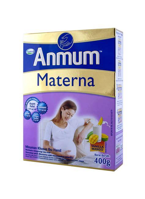 Anmum Materna Untuk Ibu Muda Anmum Bubuk Ibu Materna Vanilla Mango Box 400g