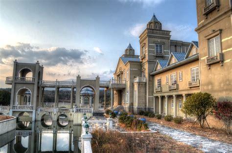 Jeju Set by Abandoned Hotel Set Jeju Great Big Scary World